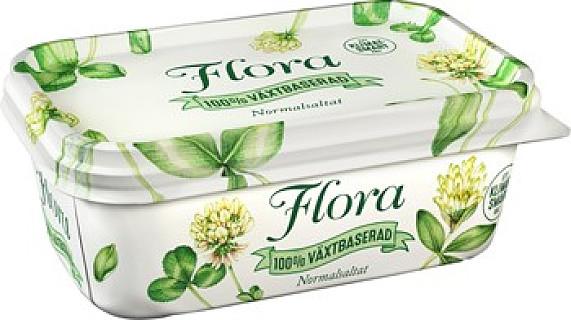 Flora 100 % Växtbaserad
